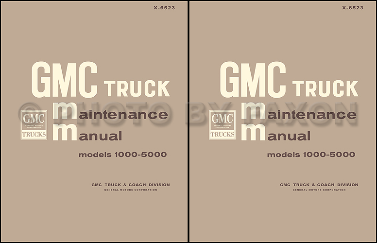 1965 1966 gmc 1000 5000 pickup and truck repair shop manual reprint 1995 gmc jimmy wiring-diagram 1965 1966 gmc 1000 5000 repair manual original