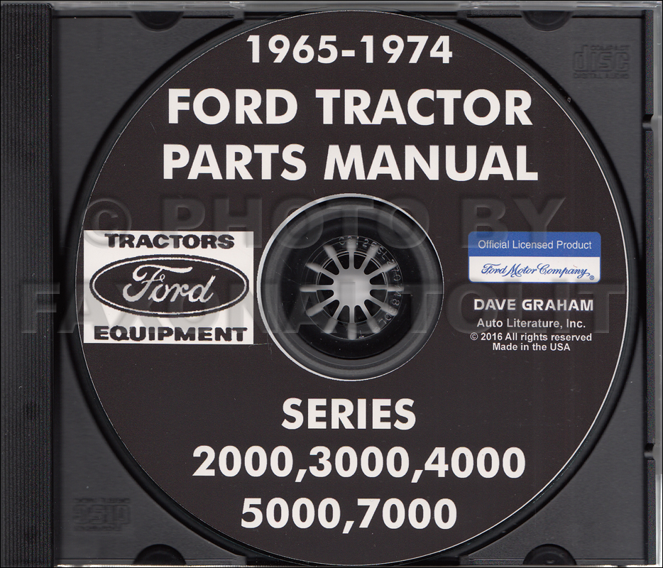 Terrific 1965 1974 Ford Tractor Parts Manual Cd Rom 2000 3000 4000 5000 7000 Wiring 101 Ferenstreekradiomeanderfmnl