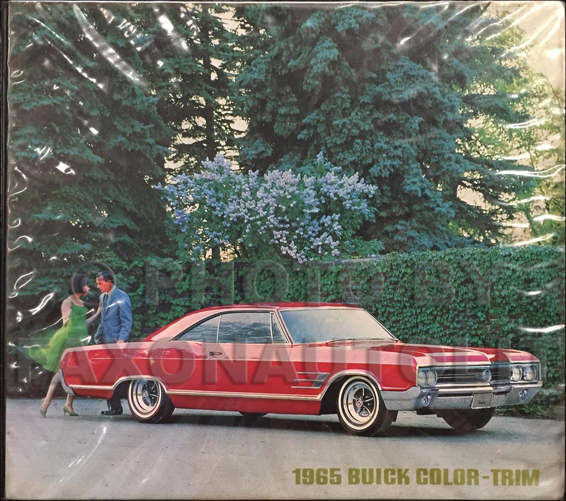 Buick Color Upholstery Dealer Album Original - Dealer buick