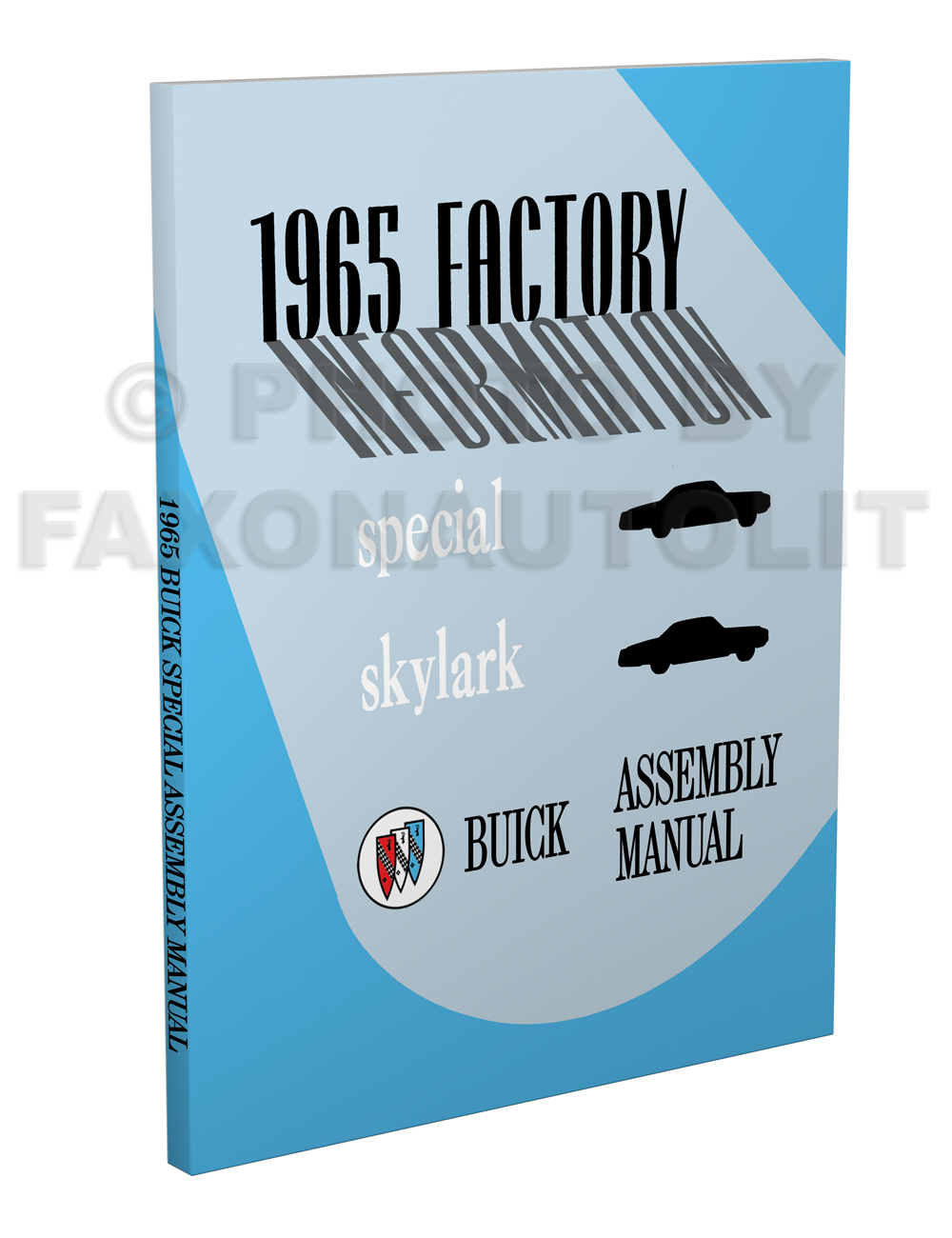 1965 Buick Factory Assembly Manual Special Skylark