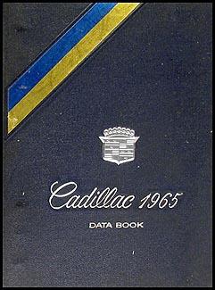 1965 Cadillac Data Book Original