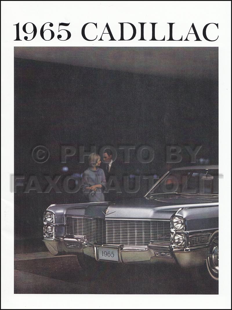 1964 Cadillac Original Sales Literature