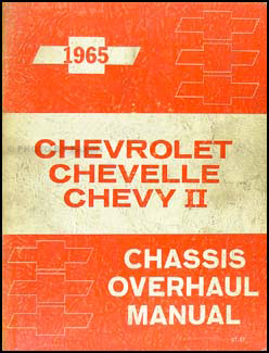 1965 Chevy Engine & Transmission Overhaul Manual Original