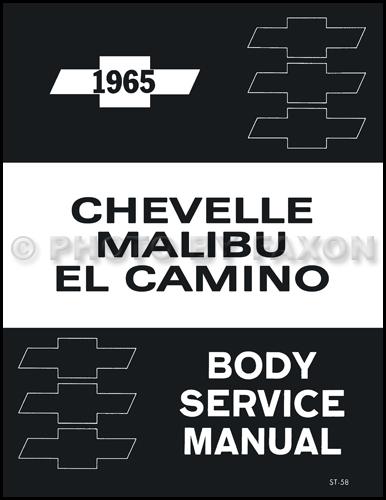 1965 Chevrolet Chevelle  Malibu  And El Camino Body