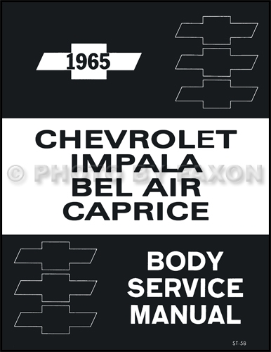 1965 Chevrolet Assembly Manual - Biscayne Bel Air Impala ...