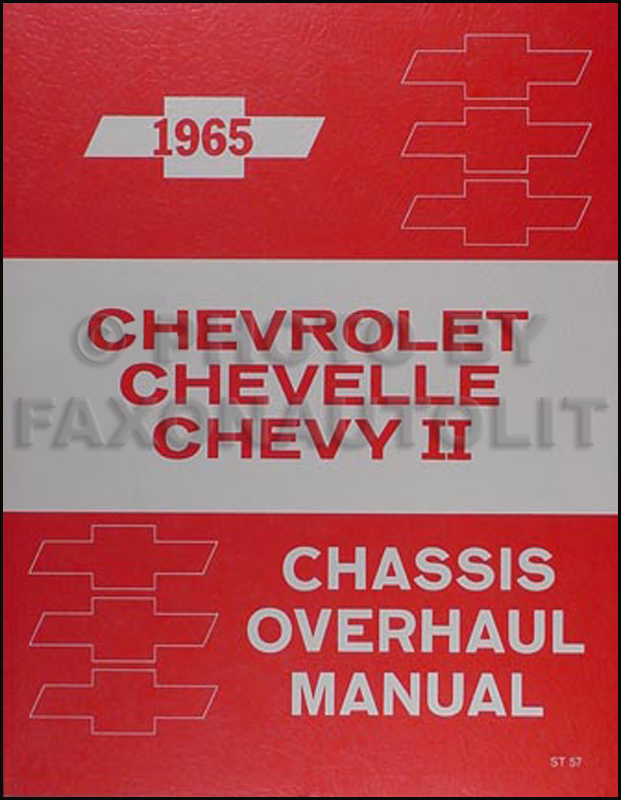 1965 Chevy Engine & Transmission Overhaul Manual Reprint