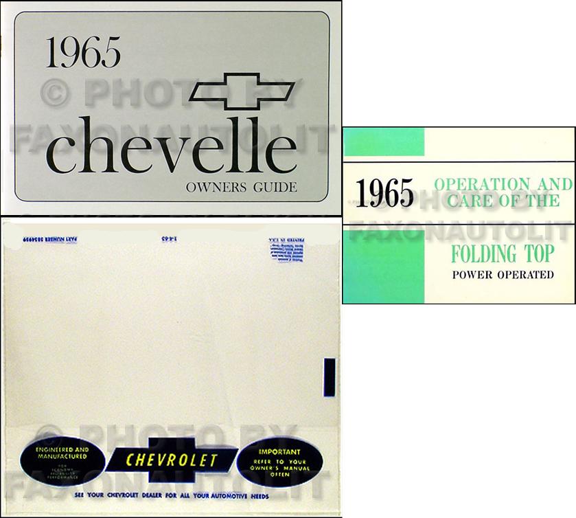 1965 Chevelle, Malibu, & El Camino Wiring Diagram Reprint