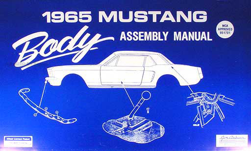 1965 ford mustang body assembly manual reprint cheapraybanclubmaster Image collections