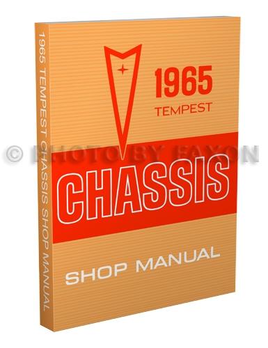 1965 Tempest, LeMans, & GTO Wiring Diagram Manual Reprint