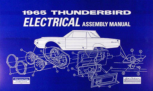 1965 ford thunderbird wiring diagram manual reprint related items