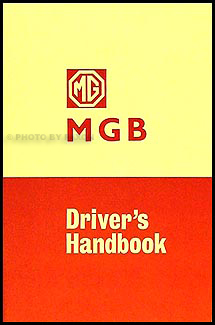 1966 1967 mgb gt owner s manual reprint rh faxonautoliterature com 1963 MGB 1964 MGB