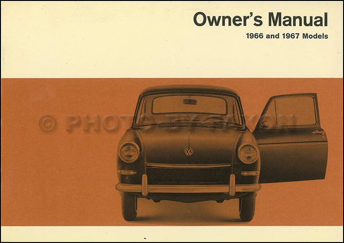 1966 1967 volkswagen fastback and squareback owner s manual original rh faxonautoliterature com VW Type 4 VW Type 3 Fastback