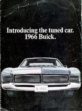 1966 Buick Original Sales Catalog 66 Riviera/Skylark GS/Special