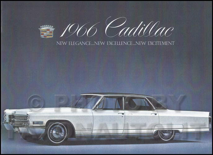 1966 Cadillac Original Sales Literature