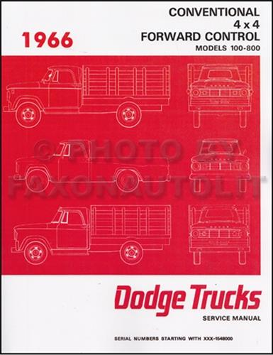 1966 dodge 100 800 pickup and truck repair shop manual reprint rh faxonautoliterature com 1988 dodge d100 owners manual 1975 Dodge D100