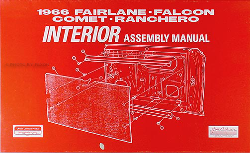 1966 ford fairlane wiring diagram manual reprint 1966 interior assembly manual fairlane falcon ranchero comet cyclone