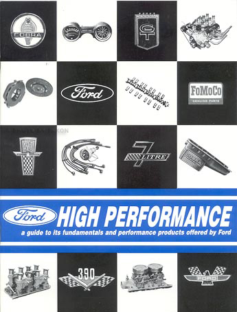 1961-1966 Ford High Performance Parts Book & Tuning Manual Reprint