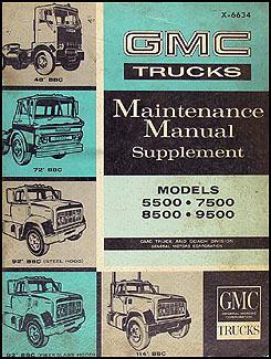 1983 gmc medium heavy duty truck new product information service.