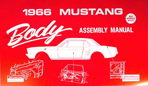 1966 Repair Shop Manual Reprint  Fairlane  Futura  Ranchero  Mustang  Comet  Capri  Caliente