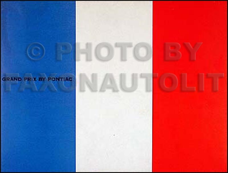 1966 Pontiac Color  U0026 Upholstery Dealer Album Original