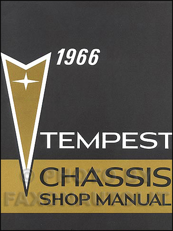 1966 tempest, lemans, & gto wiring diagram manual reprint, Wiring diagram
