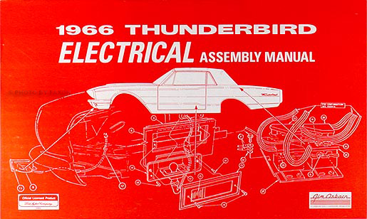 1966 ford thunderbird electrical assembly manual wiring ... 1993 ford thunderbird wiring diagram 1966 ford thunderbird wiring diagram manual
