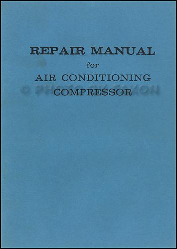 1967-1969 Toyota A/C Compressor Manual Original