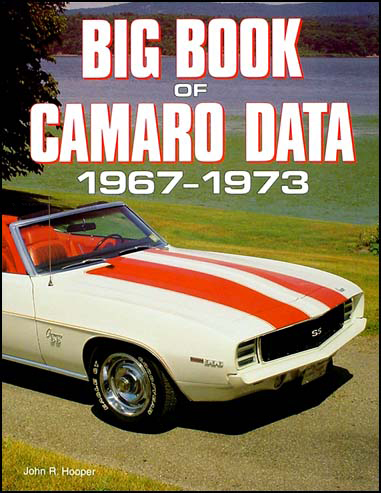 camaro wiring diagram manual reprint big book of camaro data 1967 1973
