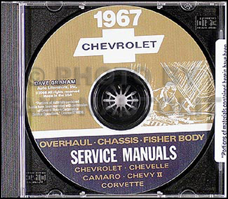 1967 chevy cd rom repair shop manual  body and overhaul manuals Fisher 9800 Body by Vi Fisher Body Plant