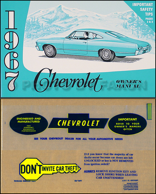 1967 chevy repair shop manual reprint impala ss caprice chevelle rh faxonautoliterature com 1967 chevrolet impala repair manual 1970 Impala