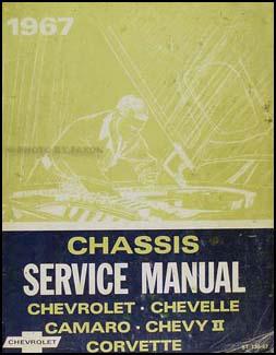 1967 Chevy Shop Manual Original  -- Impala, SS, Caprice, Chevelle, El Camino, Camaro, Chevy II/Nova, Corvette