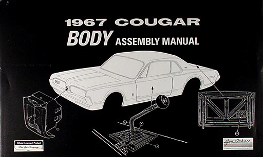 1967Cougarrbam 1967 mercury cougar reprint body assembly manual 1967 cougar wiring diagram at reclaimingppi.co