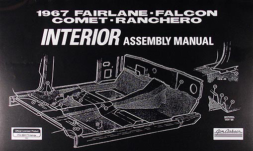 1967 ford body assembly manual fairlane falcon ranchero for Mercedes benz job fair charleston sc