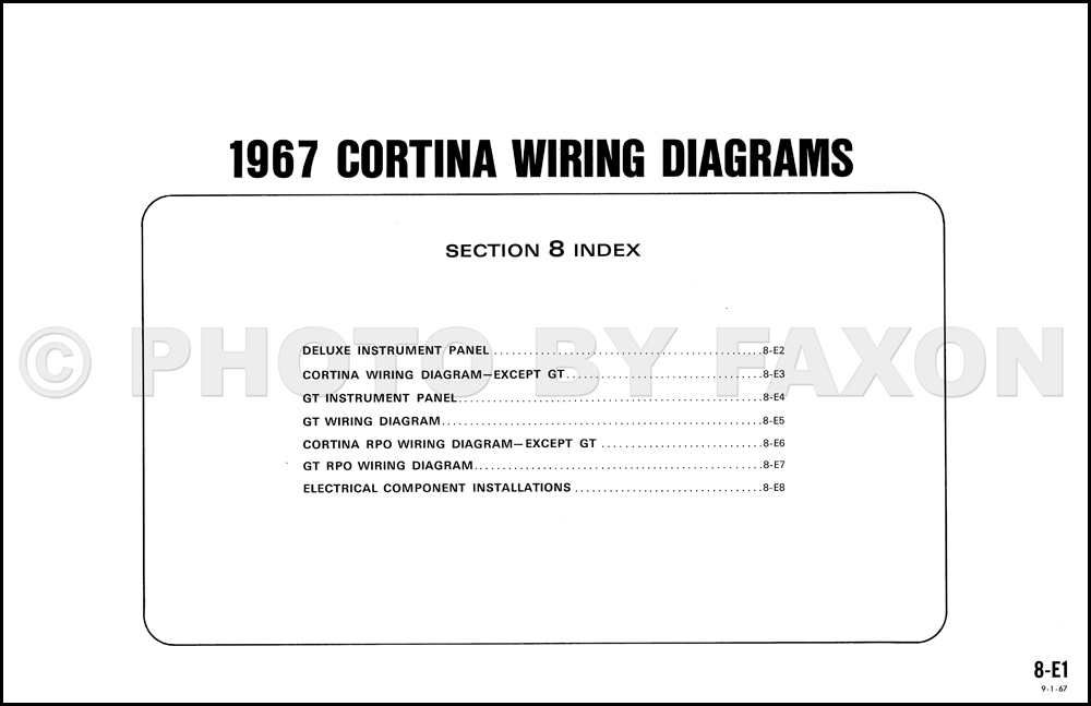 1967FordCortinaOWD TOC 1967 ford cortina wiring diagram original ford cortina wiring diagram at crackthecode.co