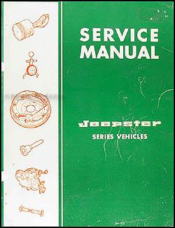 1967 1971 jeepster commando repair shop manual reprint 1967 jeepster repair shop manual original