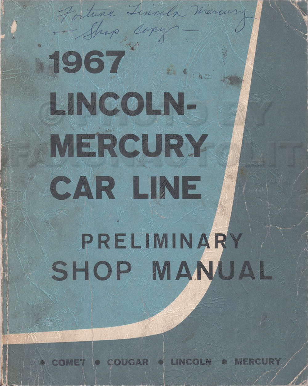 1967 lincoln wiring diagram manual reprint 1967 lincoln mercury car preliminary shop manual original