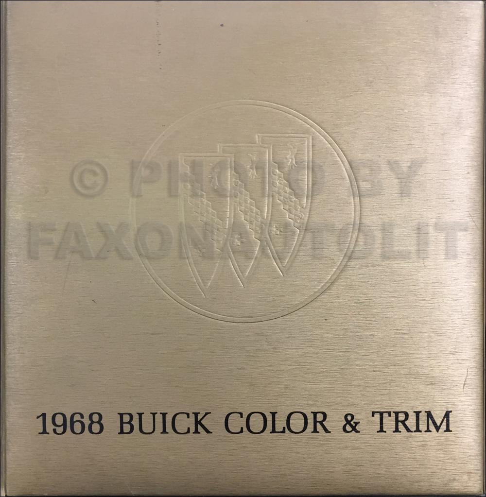 1968 Buick Wiring Diagram Manual Reprint Special/Gran ...