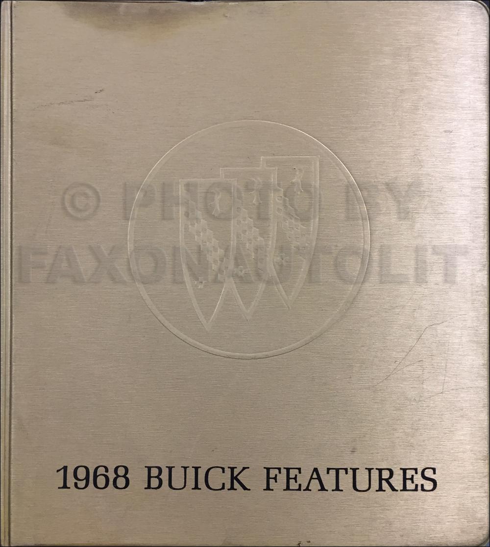 1968 Buick Wiring Diagram Manual Reprint Special  Gran Sport  Skylark