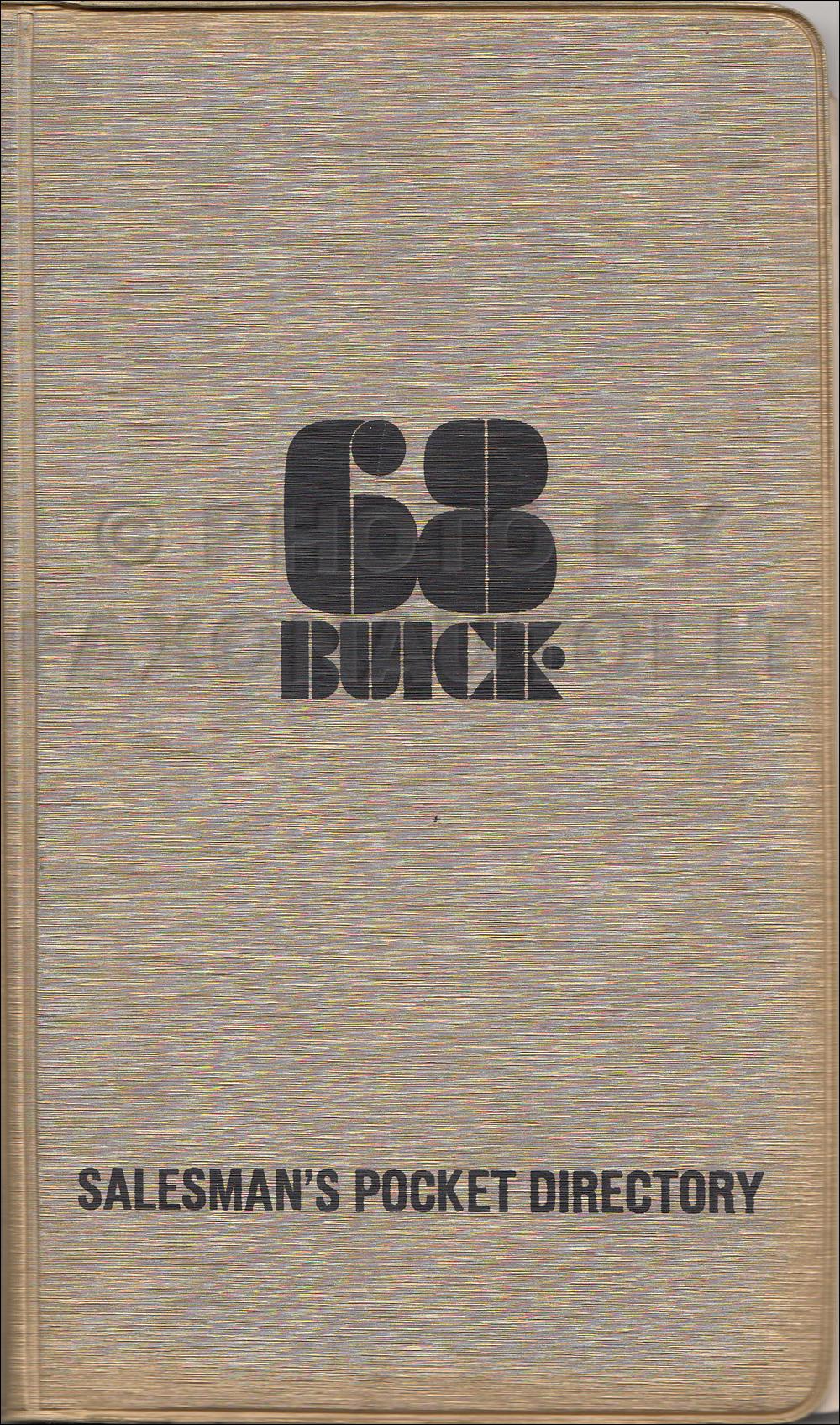 1968 Buick Wiring Diagram Manual Reprint Special  Gran