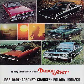 1968 Dodge Original Sales Catalog for all models