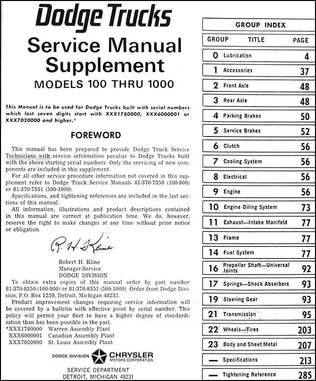 1968DodgeTruckORM-TOC  Dodge D Wiring Diagram on 1968 dodge d100 wiring diagram, 1969 dodge d100 wiring diagram, 1970 dodge d100 wiring diagram,