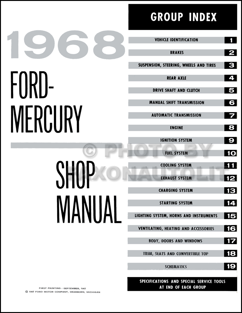Wiring Diagram For 1966 Ford Ltd Wiring Diagram For 1966