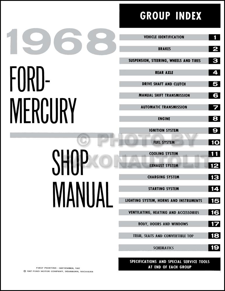 1968 Ford Galaxie Wiring