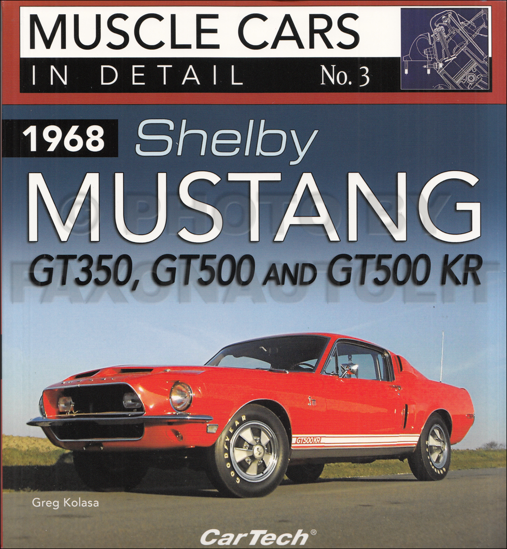 1968 Ford Mustang Chassis Assembly Manual Reprint
