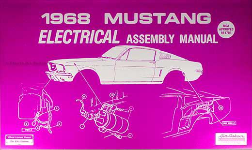 1968 Ford Mustang Wiring Diagram Original