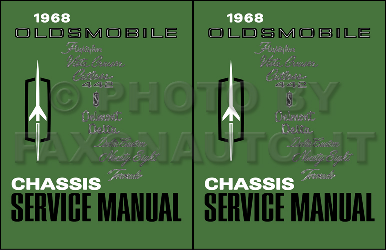 1968 oldsmobile repair shop manual reprint rh faxonautoliterature com 1968 oldsmobile cutlass wiring diagram
