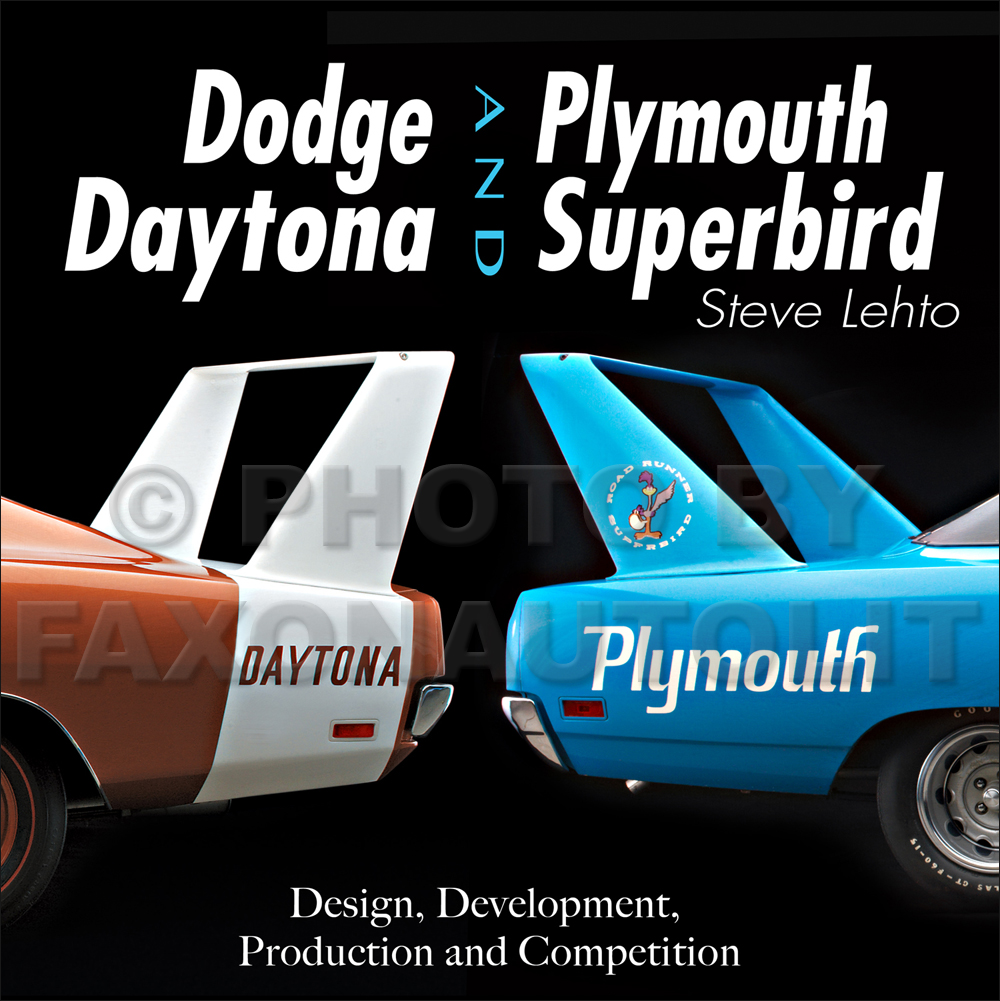 1969-1970 Dodge Daytona and Plymouth Superbird Design, Development, Production, and Competition