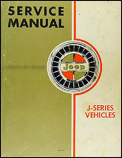 1969-1970 Jeep Gladiator & Wagoneer Shop Manual Original