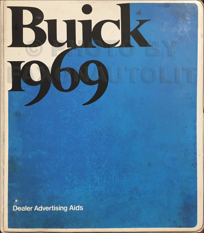 1969 Buick Wiring Diagram Manual Reprint Gran Sport Gs