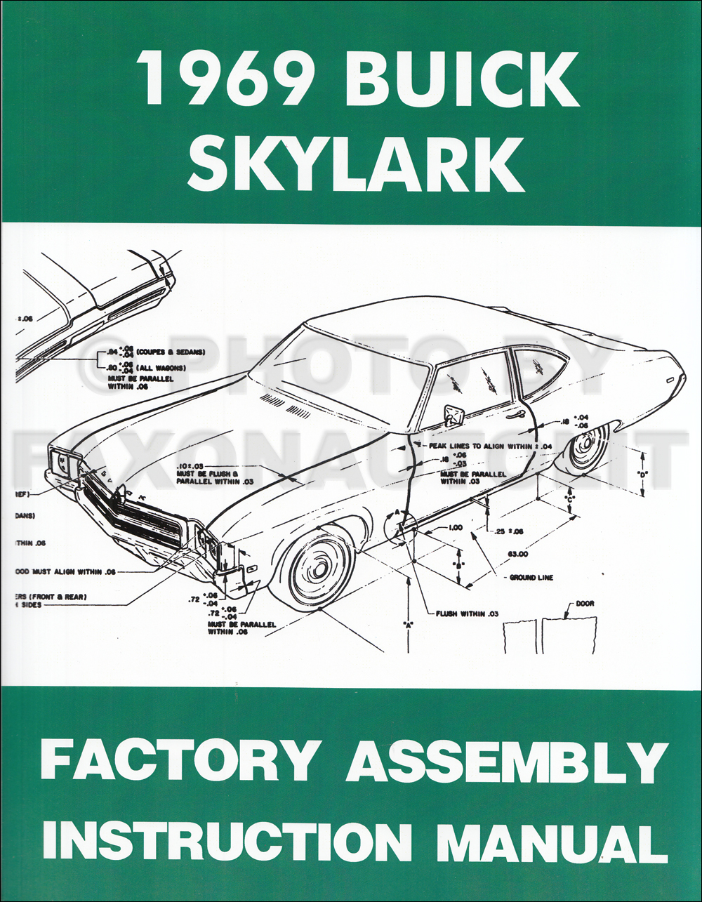 1969 buick wiring diagram manual reprint gran sport gs skylark special 1969 buick gs skylark special sportwagon reprint assembly manual